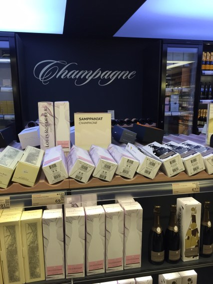 Champagne section