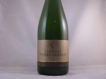 Champagne Pierre Gerbais Reserve Brut Celles-Sur-Ource Champagne NV