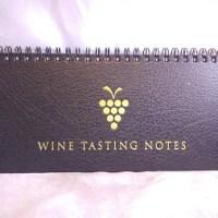 Vinus Wine Tasting Notebook 2