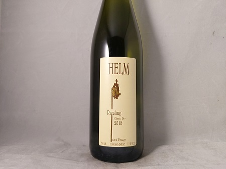 Helm Classic Dry Riesling Canberra District 2018
