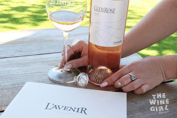 Lavenir Glen rose wine