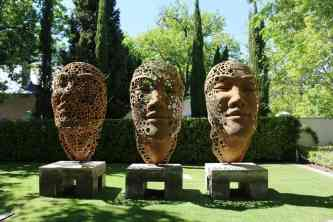 Heavenly-pairing-of-Angels-Tears-and-nougat-at-Grande-Provence-artstatues