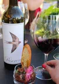 Paserene food and wine pairing