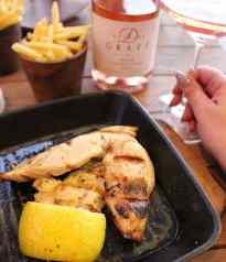 Chin Chilla Camps Bay chicken dinner