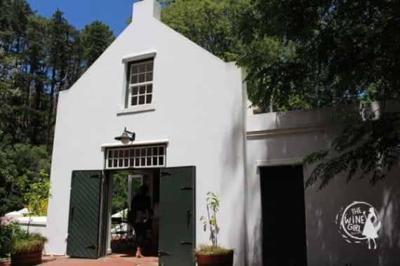 Eagle's Nest wines constantia entrance