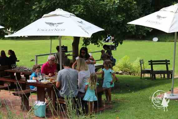 Eagles Nest wines constantia families