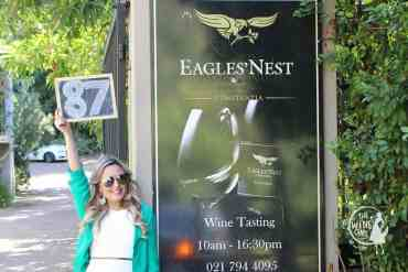 Eagles Nest wines constantia the wine girl cape town