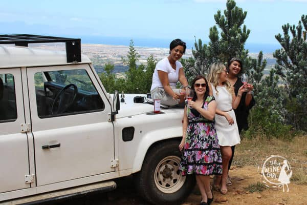 Eagles Nest wines constantia wine tasting views wine safari