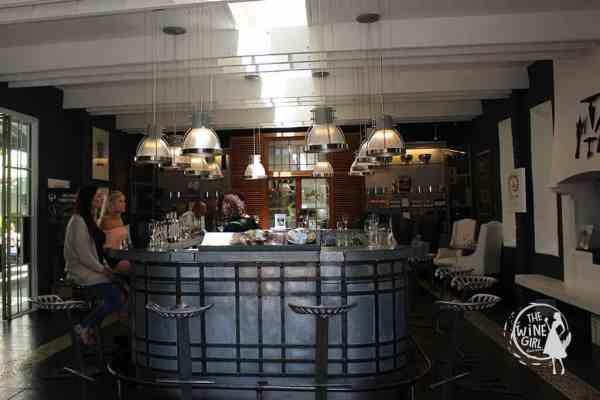 Grande Provence Franschhoek Tasting room