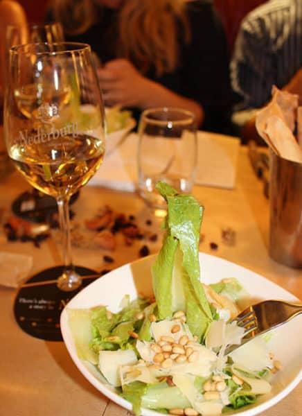 HQ fine wining salad starters