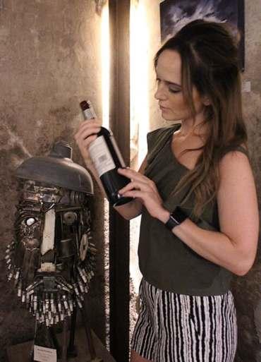 zandvliet wine label reading