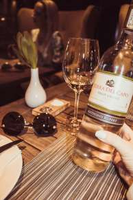 Anthonij Rupert Terra del Capo Pinot Grigio Wine Tasting