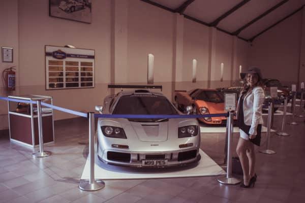 Anthonij Rupert Wyne McLaren F1 Car 1994 Car Museum Franschhoek