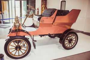 Anthonij Rupert Wyne Vintage Car Museum red car