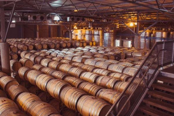 Nederburg barrel room