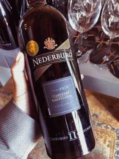 Nederburg red wine
