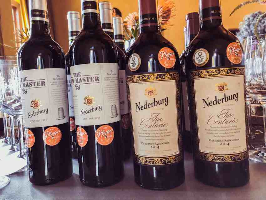 Nederburg awarded wines