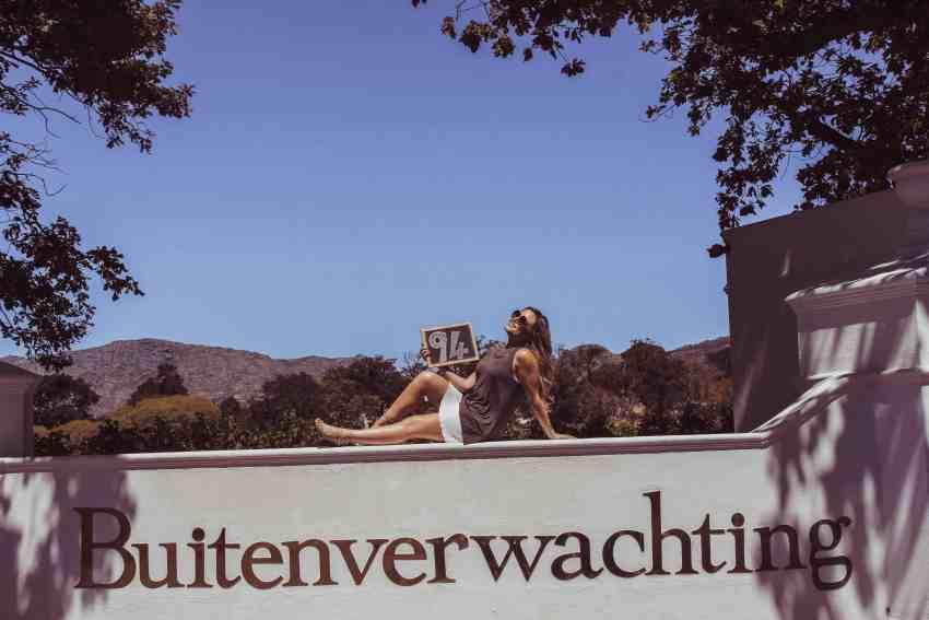 Buitenverwachting the wine girl cape town constantia