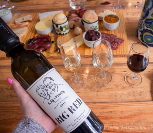 Kay and monty vineyards wine tasting Plettenberg Bay winelands
