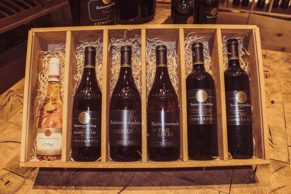Buitenverwachting constantia wine tasting wine range