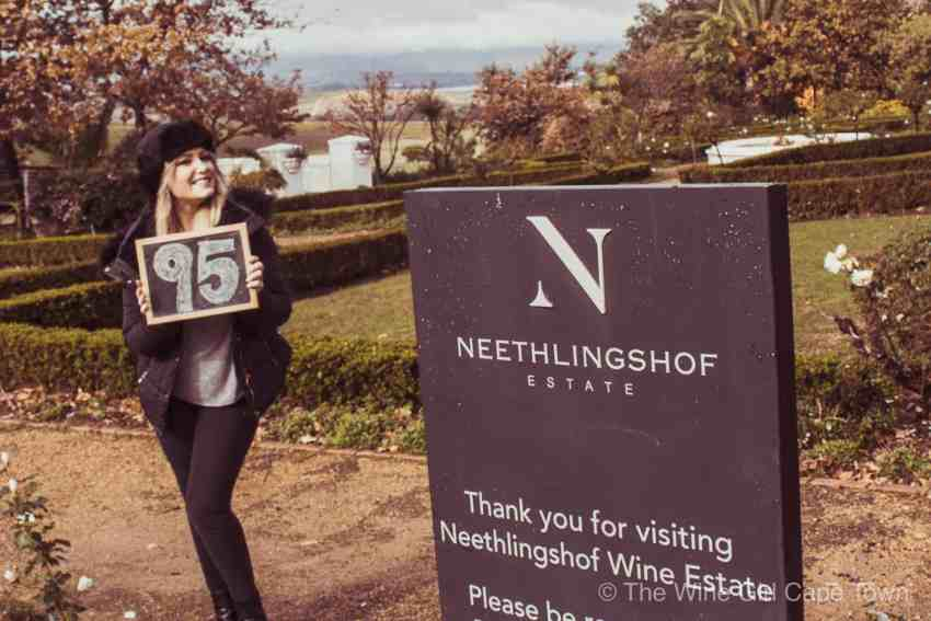 The Wine Girl Cape Town Neethlingshof stellenbosch wine farm south africa