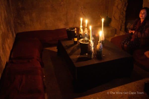 Weltevrede underground cellar wine tasting robertson