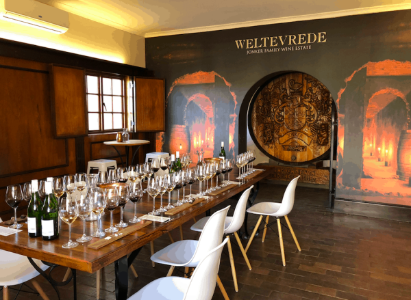 Weltevrede estate bonnievale wines