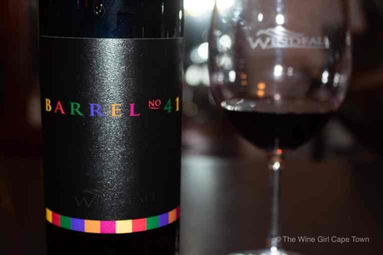 Windfall wines barrel 41