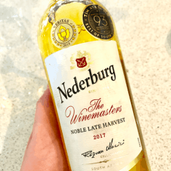 Nederburg Noble Late Harvest wine South Africa