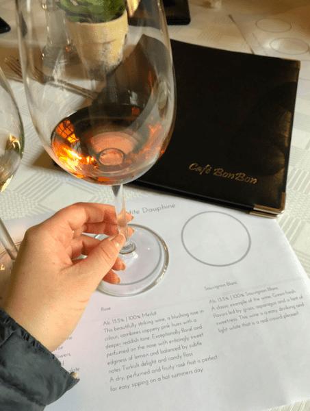 La Petit Dauphine wine tasting franschhoek