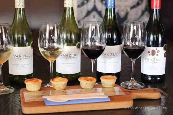 Imbuko Wines pie and wine pairing
