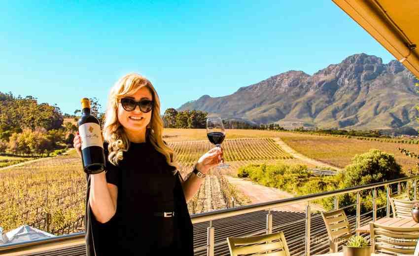 the wine girl cape town glenelly wine estate stellenbosch