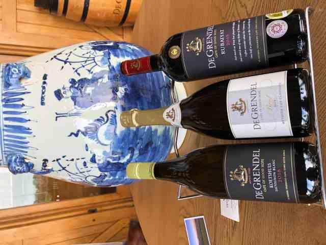De Grendel Wines Durbanville wine selection
