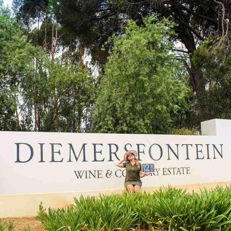 Diemersfontein wine estate wellington south africa