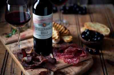Stellenbosch Hills Food and Wine Pairing Biltong