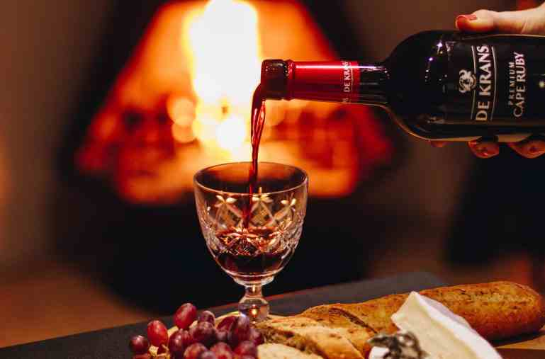 De Krans port style wines winter