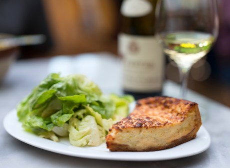 Flamiche aux Poireaux - Ham and cheese quiche - Bistro Jeanty Napa Valley