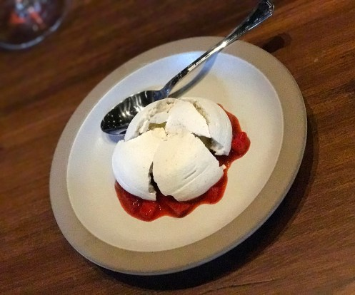 Strawberry Pavlova - a must try at The Charter Oak in Saint Helena