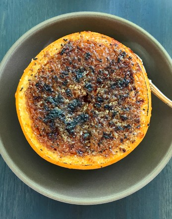 Grilled Grapefruit with a Rosemary Sugar Brûlée - Brunch in Saint Helena