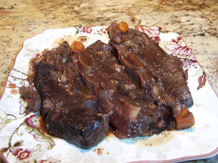 Classic French Short Ribs