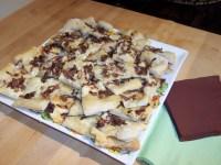 Caramelized Onion Thin Crust Pizza