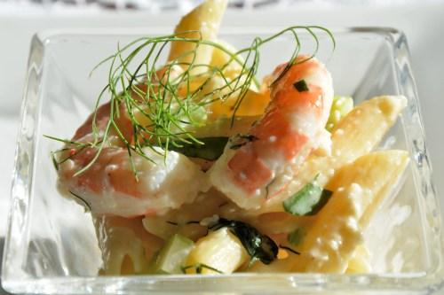 Seafood Saffron Pasta