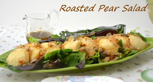 roasted-pear-salad