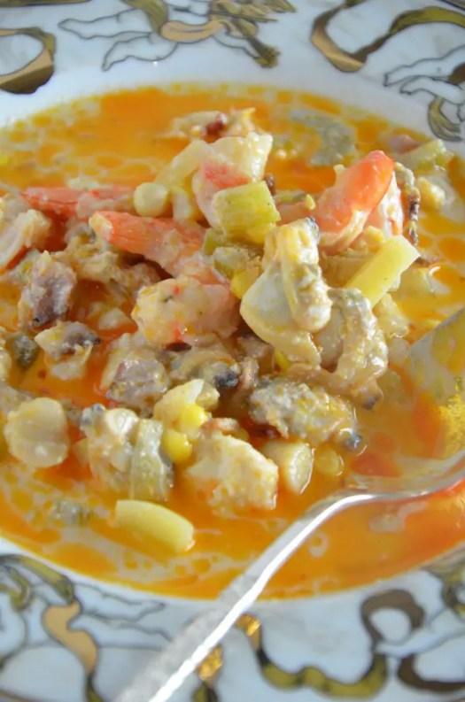 Lobster Seafood Chowder