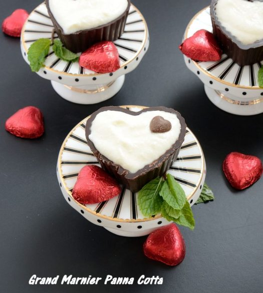 These Grand Marnier Panna Cottaheartstick all the boxes! Super easy, no bake, make ahead, full of flavor, gluten free, light, elegant. And only 6ingredients! What more could a busy hostess ask of a dessert?