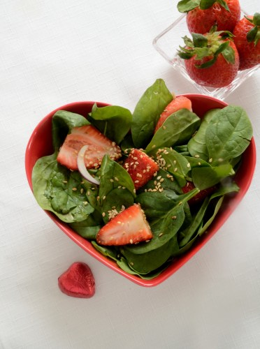no-fat-strawberry-spinach-salad