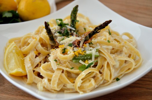 Fettuccine Lemoncello