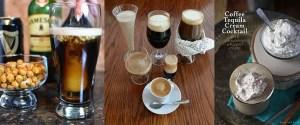 Irish coffee, B52, Bailey's Irish Cream shot