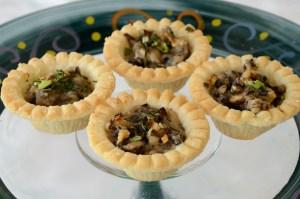 mushroom-tartlets
