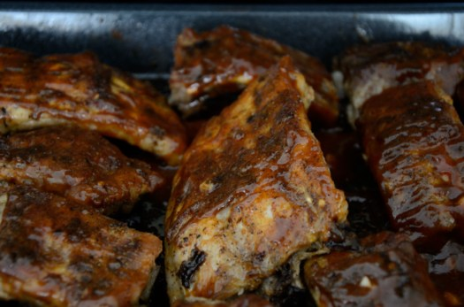 Slow Cooker Bourbon BBQ Ribs